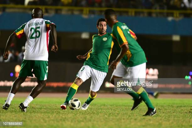 Mohamed Aboutrika from Team Generation 2002 during the match of the Legends in homage of Jules Francois Bocande on January 7 at the Leopold Sedar...