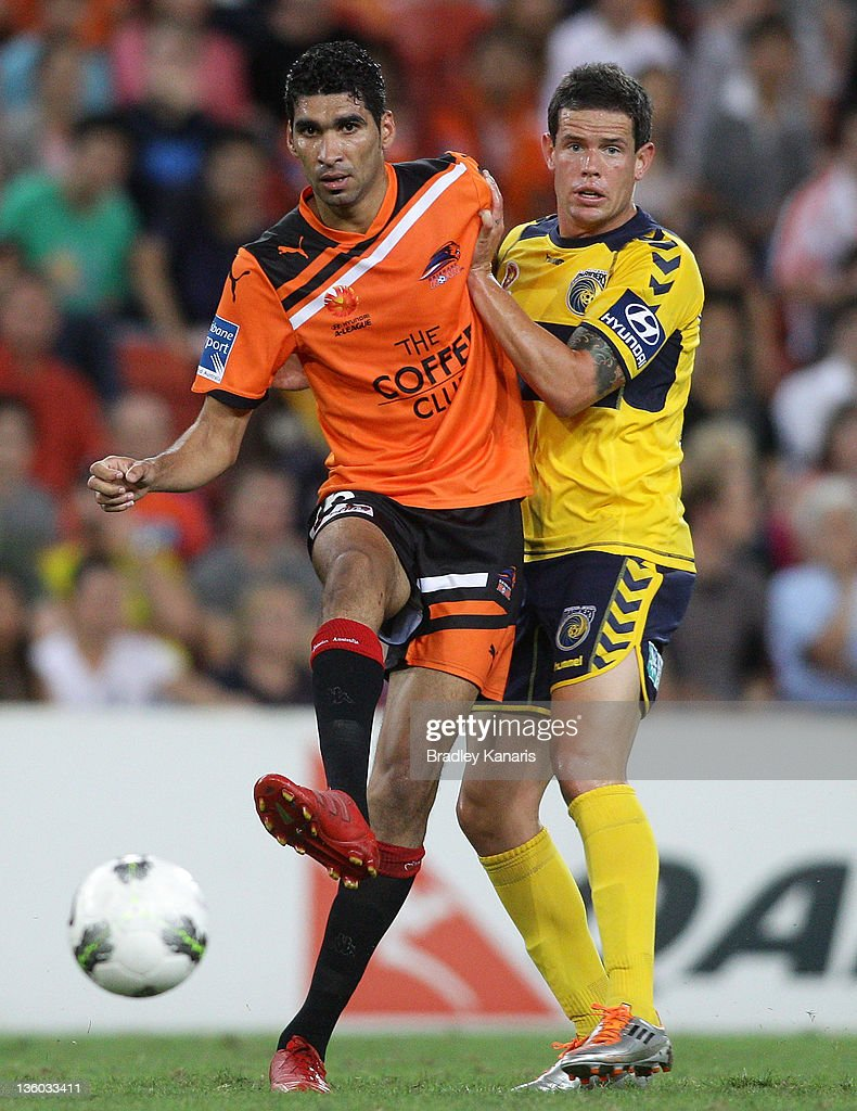 Mohamed Adnan of the Roar kicks the ball during the round 11 A-League match between the Brisbane Roar and the Central Coast Mariners at Suncorp Stadium on December 17, 2011 in Brisbane, Australia.