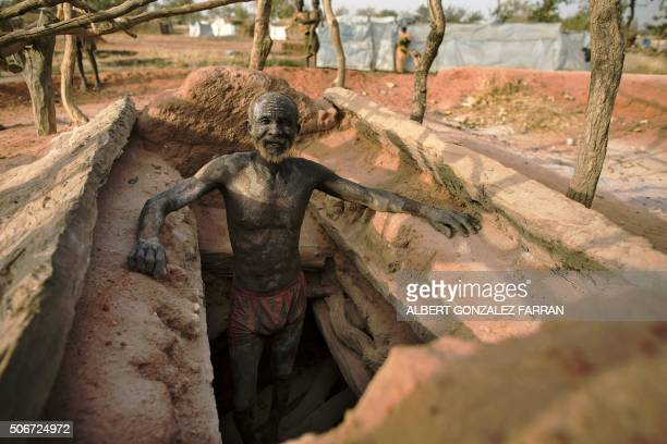 Mohamed Ahmed an asylum seeker from Al Garbia South Kordofan Sudan is pictured at his settlement home in Yida South Sudan on January 25 2016 When he...