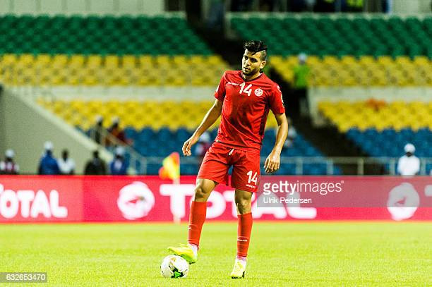 Mohamed Amine Ben Amor of Tunisia during the African Nations Cup match between Zimbabwe and Tunisia on January 23 2017 in Libreville Gabon