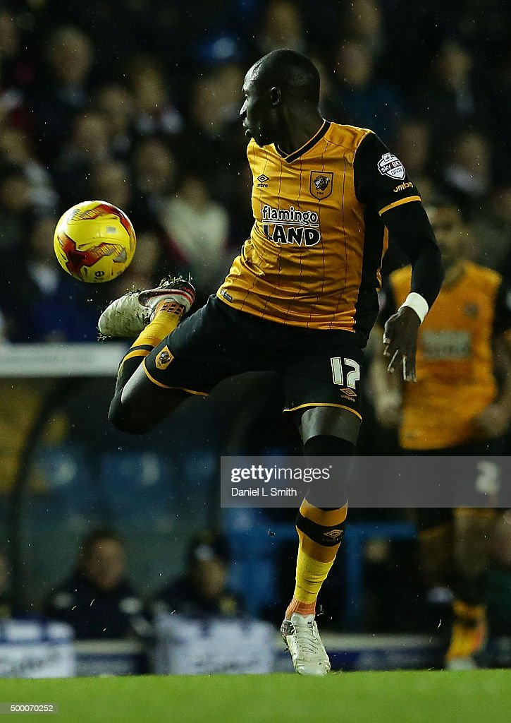 Mohamed Diame of Hull City FC during the Sky Bet Championship League match between Leeds United FC and Hull City FC on December 5, 2015 in Leeds, United Kingdom.