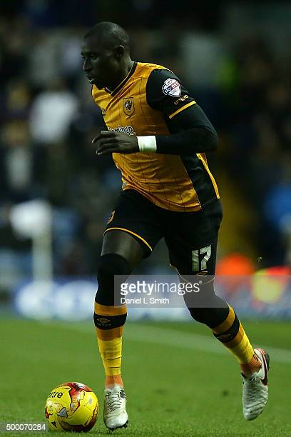 Mohamed Diame of Hull City FC during the Sky Bet Championship League match between Leeds United FC and Hull City FC on December 5 2015 in Leeds...