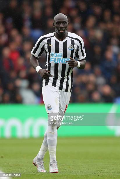 Mohamed Diame of Newcastle United during the Premier League match between Crystal Palace and Newcastle United at Selhurst Park on September 22 2018...