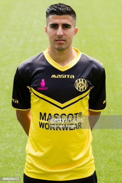 Mohamed El Makrini of Roda JC during the Photocall Roda JC at the Parkstad Limburg Stadium on July 12 2018 in Kerkrade Netherlands