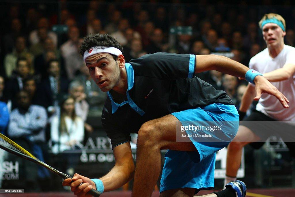 Canary Wharf Squash Classic 2013 : News Photo