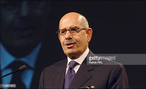 Mohamed Elbaradei, Head Of The International Atomic Energy Agency In Dortmund, Germany On March 25, 2006 - Mohamed ElBaradei, head of the...