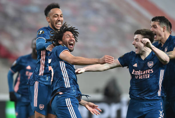 GRC: Olympiacos v Arsenal - UEFA Europa League Round Of 16 Leg One