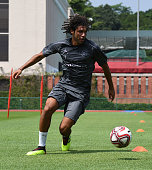 singapore mohamed elneny arsenal during an