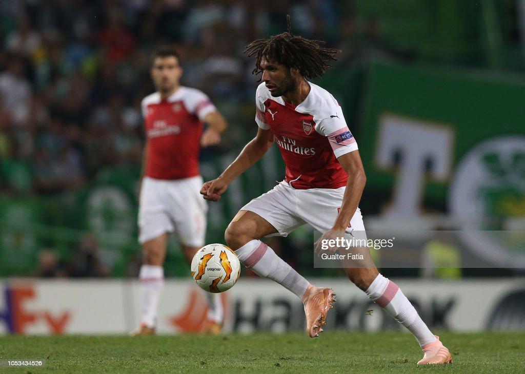 Sporting CP v Arsenal - UEFA Europa League - Group E : ニュース写真