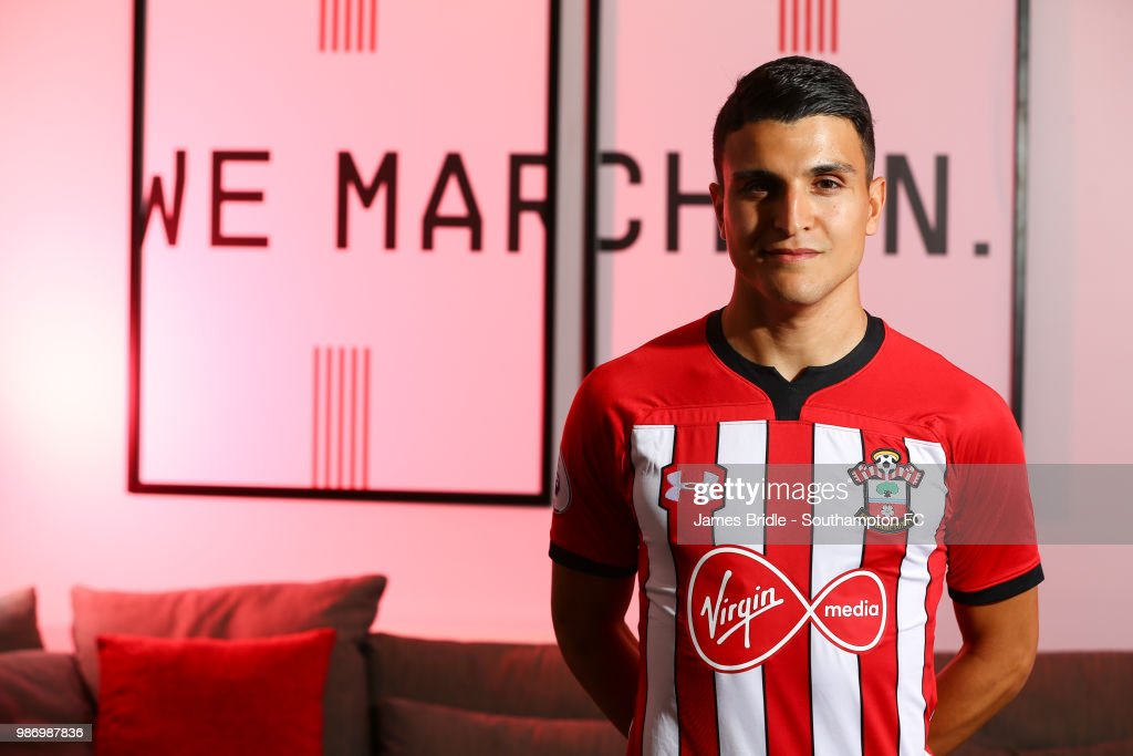 Mohamed Elyounoussi of Southampton FC during a Signing photoshoot pictured on June 28, 2018 at Staplewood Complex in Southampton, England.
