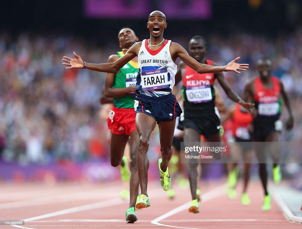 Olympics Day 15 - Athletics : ニュース写真