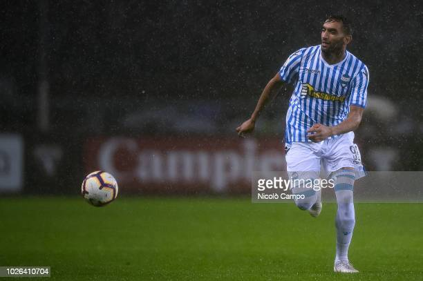 Mohamed Fares of SPAL in action during the Serie A football match between Torino FC and SPAL Torino FC won 10 over SPAL