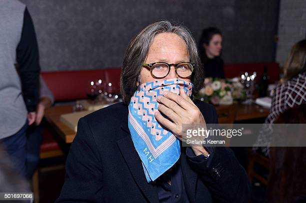 Mohamed Hadid attends Alana Hadid x Lou Grey Celebrate Collaboration With Friends And Family In Los Angeles at Republique on December 16 2015 in Los...