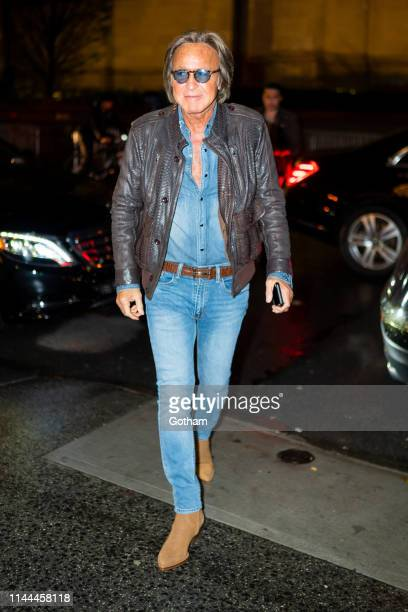 Mohamed Hadid attends Gigi Hadid's 24th Birthday at L'Avenue in Midtown on April 22 2019 in New York City
