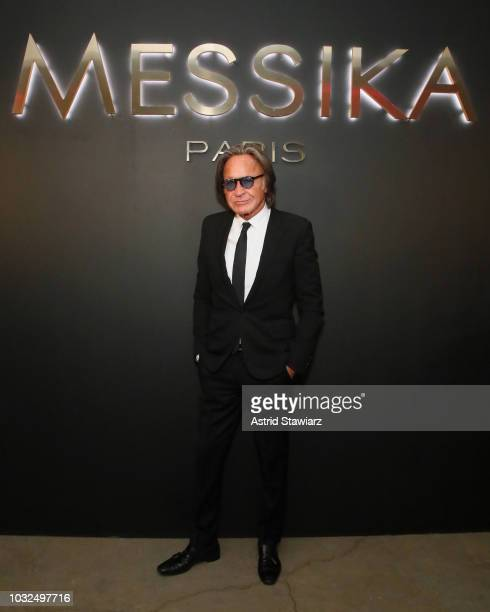 Mohamed Hadid attends the MESSIKA Party NYC Fashion Week Spring/Summer 2019 Launch Of The Messika By Gigi Hadid New Collection at Milk Studios on...