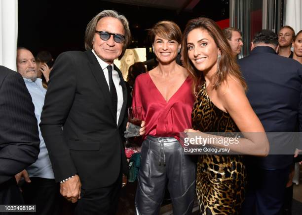 Mohamed Hadid Dana Messika and Valerie Messika attend the MESSIKA Party NYC Fashion Week Spring/Summer 2019 Launch Of The Messika By Gigi Hadid New...