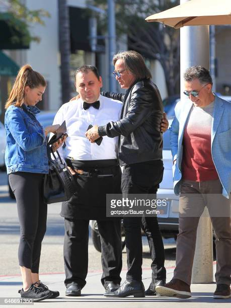 Mohamed Hadid is seen on February 28 2017 in Los Angeles California