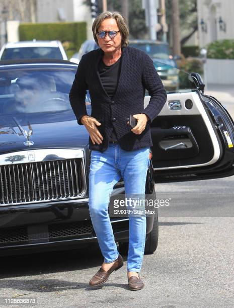 Mohamed Hadid is seen on March 5 2019 in Los Angeles California