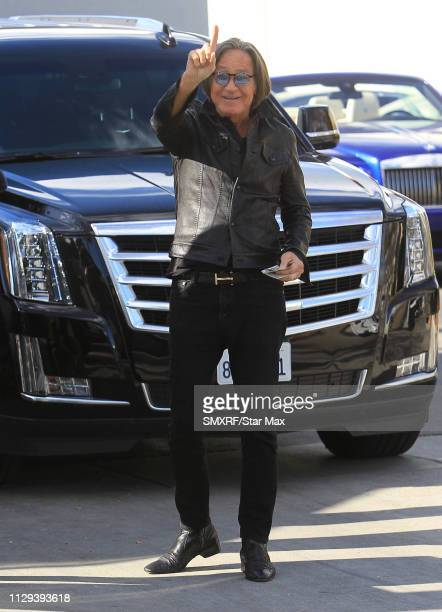 Mohamed Hadid is seen on March 8 2019 in Los Angeles California