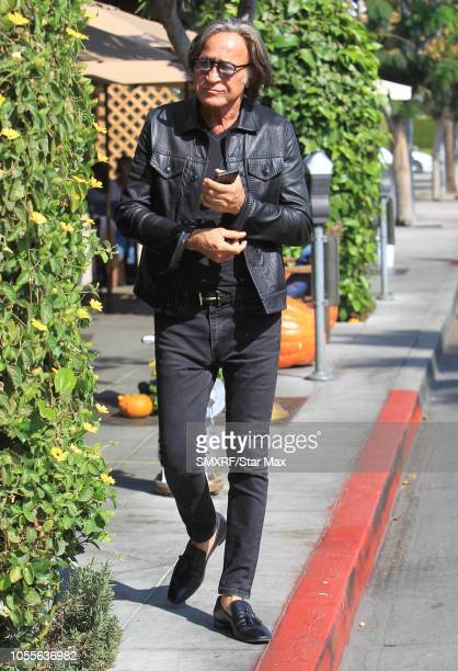 Mohamed Hadid is seen on October 29 2018 in Los Angeles CA