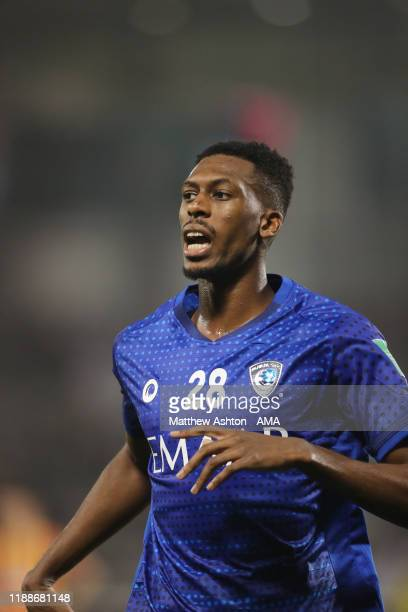 Mohamed Kanno of Al Hilal during the FIFA Club World Cup 2nd round match between Al Hilal and Esperance Sportive de Tunis at Jassim Bin Hamad Stadium...