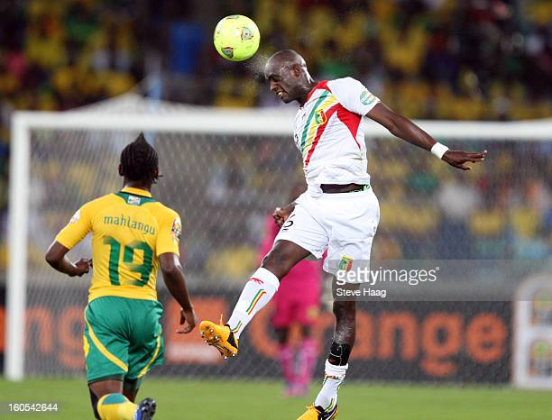 Mohamed Lamine Sissoko of Mali during the 2013 African Cup of Nations QuarterFinal match between South Africa and Mali at Moses Mahbida Stadium on...