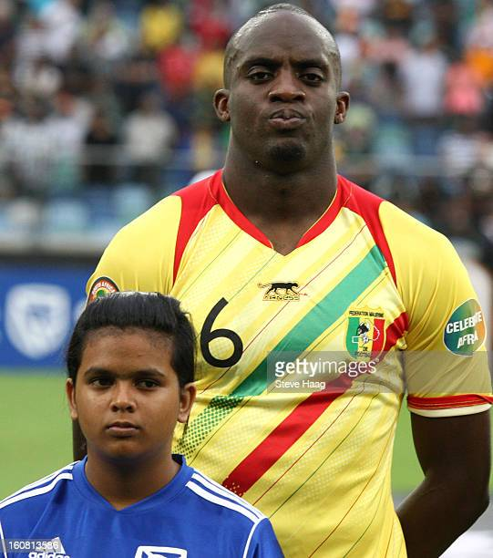 Mohamed Lamine Sissoko of Mali poses prior the 2013 African Cup of Nations SemiFinal match between Mali and Nigeria at Moses Mahbida Stadium on...