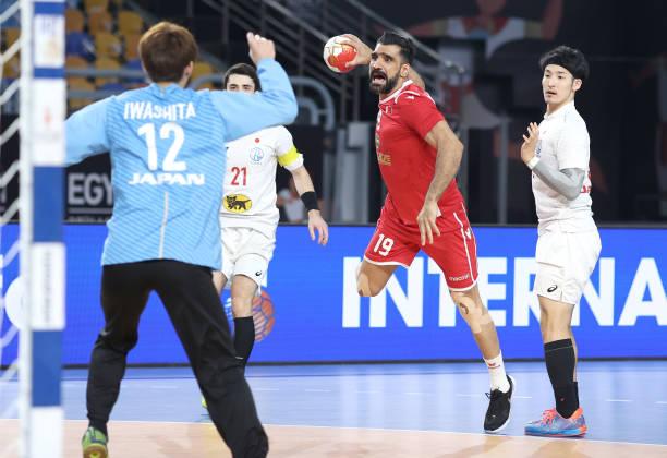 EGY: Bahrain v Japan - IHF Men's World Championships Handball 2021