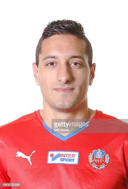 Mohamed Ranadan of Helsingborgs IF poses during a portrait session on March 11 2015 in HelsingborgSweden