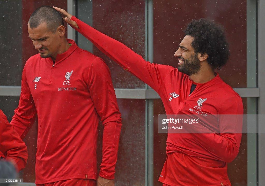 Liverpool FC Training : News Photo