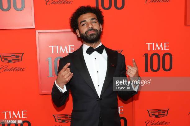 Mohamed Salah attends the 2019 Time 100 Gala at Frederick P. Rose Hall, Jazz at Lincoln Center on April 23, 2019 in New York City.