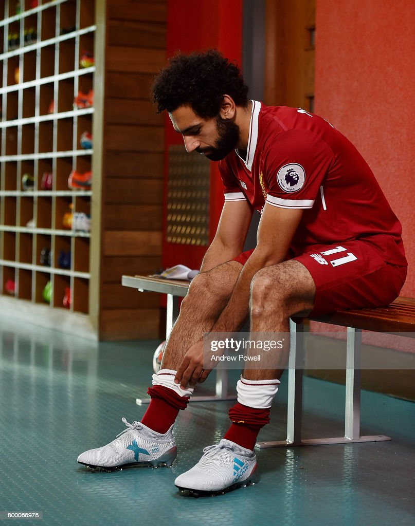 Liverpool Announce Signing of Mohamed Salah : News Photo