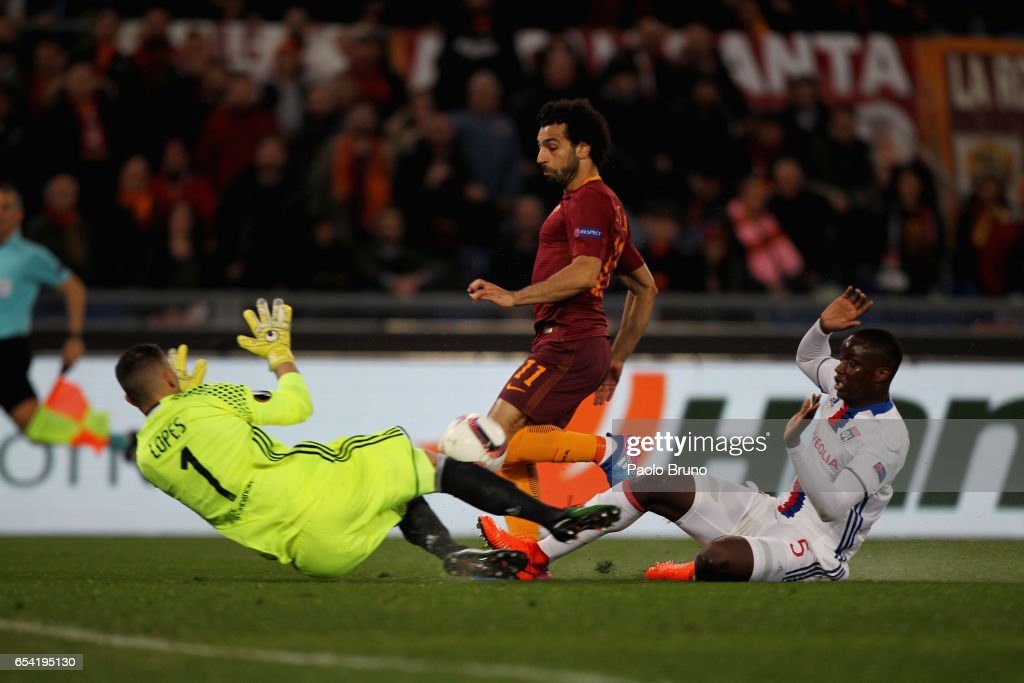 AS Roma v Olympique Lyonnais - UEFA Europa League Round of 16: Second Leg : News Photo