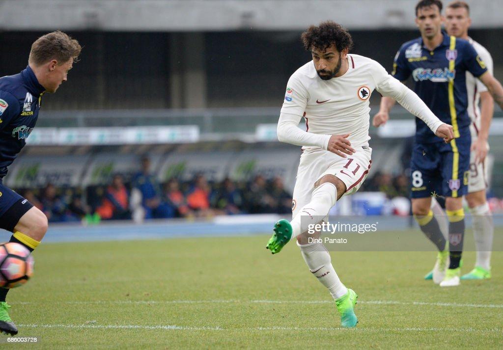 AC ChievoVerona v AS Roma - Serie A : News Photo