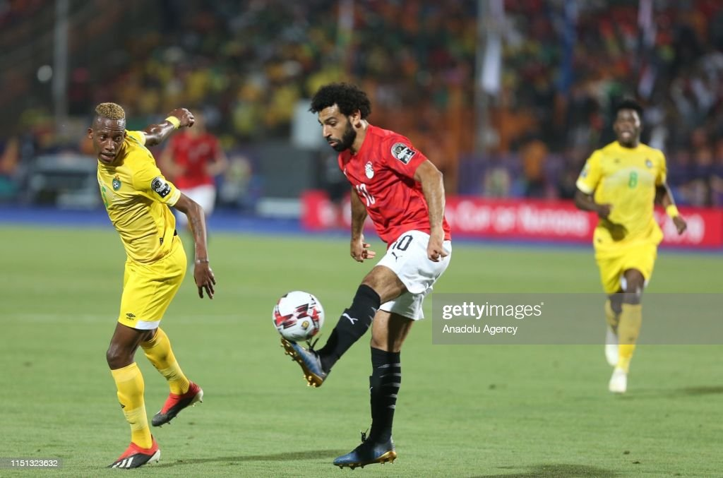 2019 Africa Cup of Nations: Egypt vs Zimbabwe : News Photo