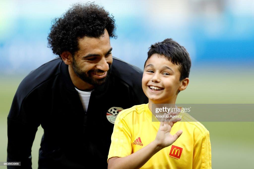 Saudi Arabia v Egypt : Group A - 2018 FIFA World Cup Russia : News Photo