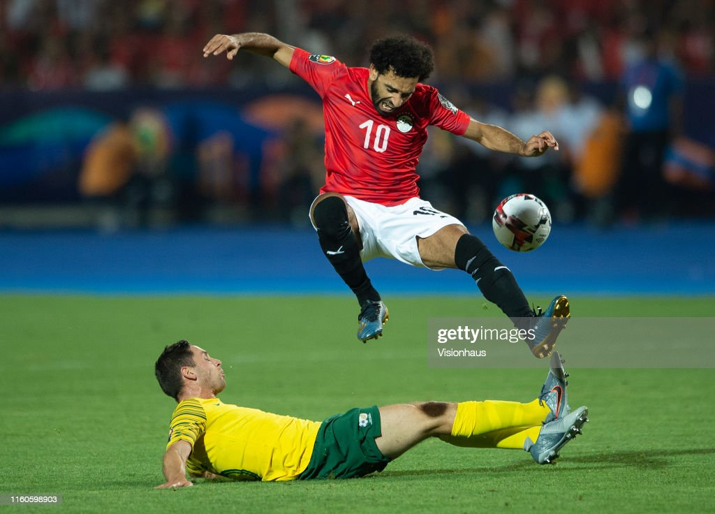 Egypt v South Africa: Round of 16 - 2019 Africa Cup of Nations : News Photo