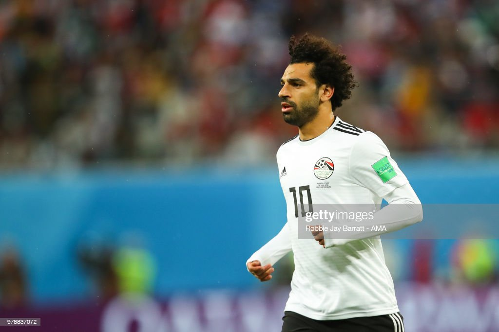 Russia v Egypt: Group A - 2018 FIFA World Cup Russia : ニュース写真