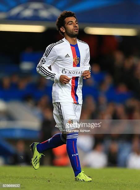 Mohamed Salah of FC Basel