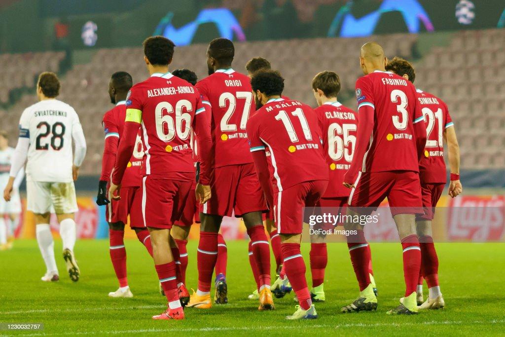 FC Midtjylland v Liverpool FC: Group D - UEFA Champions League : News Photo