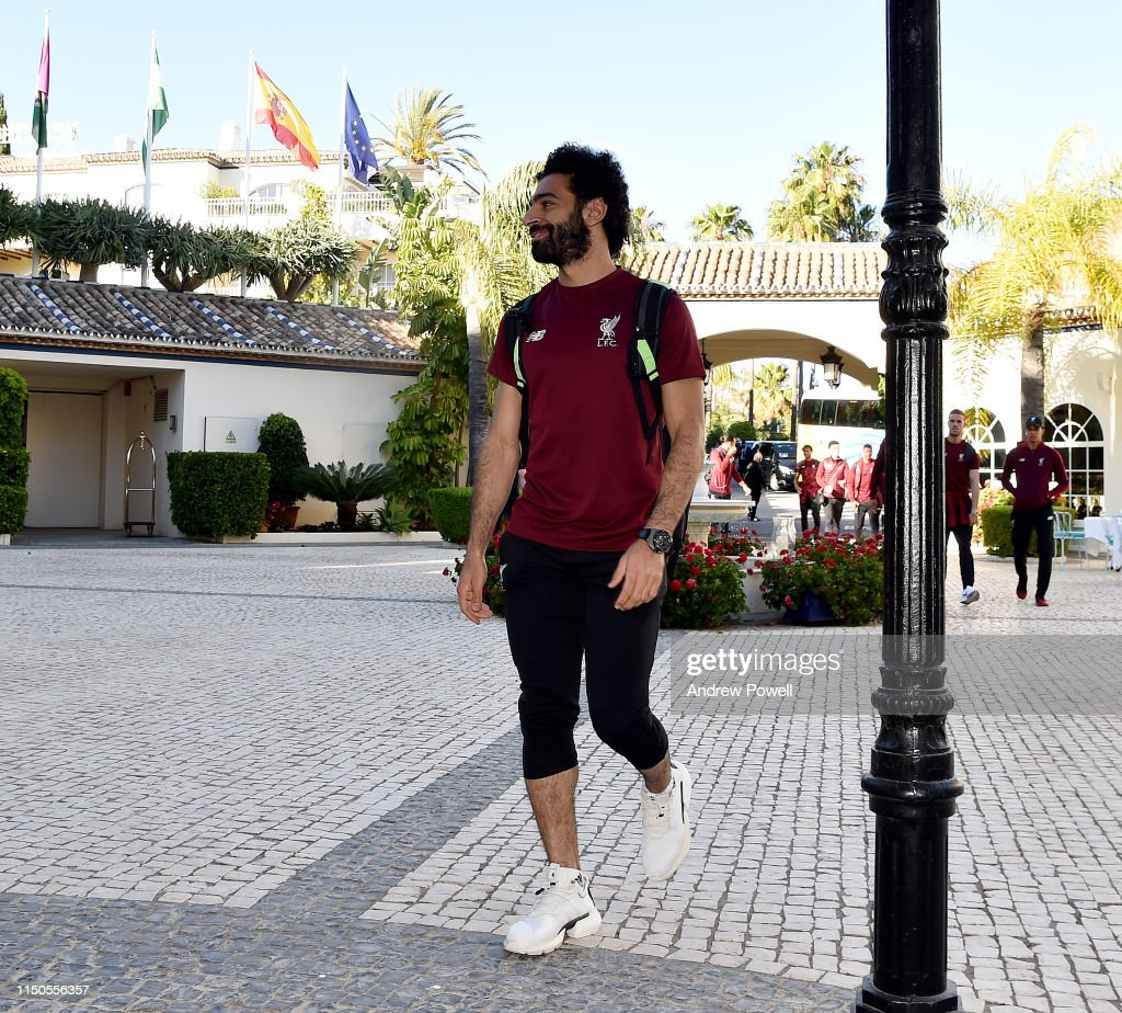 ESP: Liverpool Arrive in Marbella for a Warm Weather Training Camp