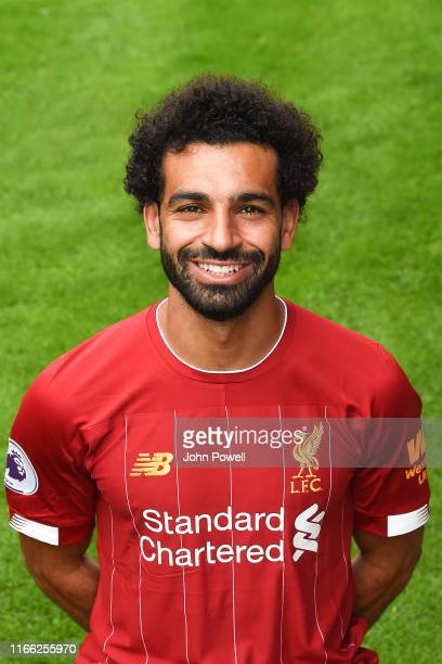Mohamed Salah of Liverpool at Melwood Training Ground on August 05 2019 in Liverpool England