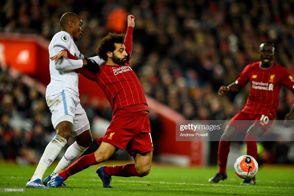 Liverpool FC v West Ham United - Premier League : ニュース写真