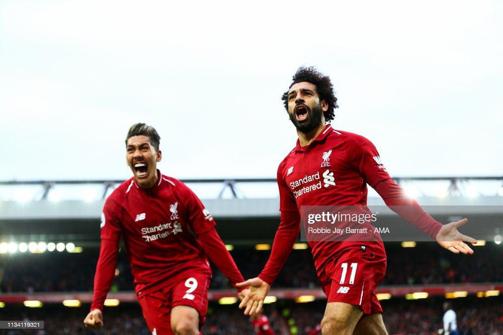 GBR: Liverpool FC v Tottenham Hotspur - Premier League