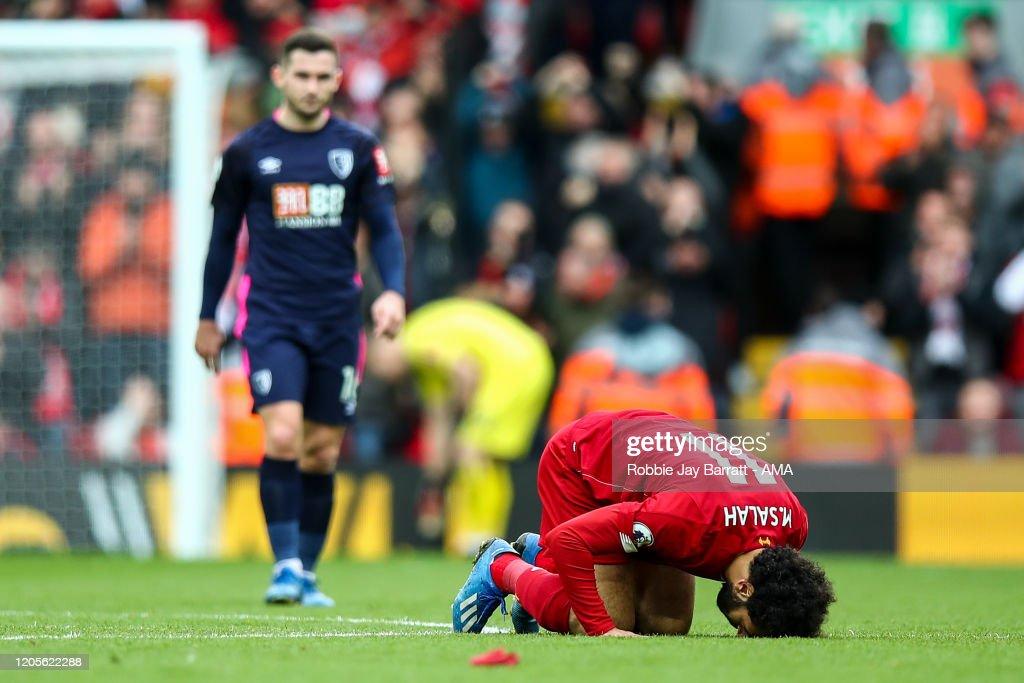 Liverpool FC v AFC Bournemouth  - Premier League : News Photo