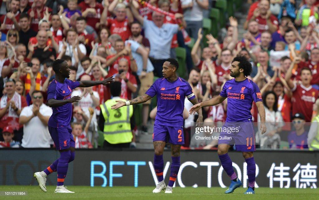 Liverpool v S.S.C Napoli - Pre Season Friendly : News Photo
