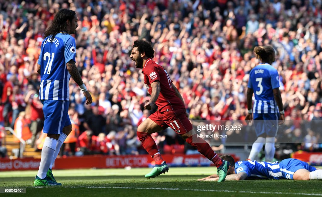 Liverpool v Brighton and Hove Albion - Premier League : News Photo