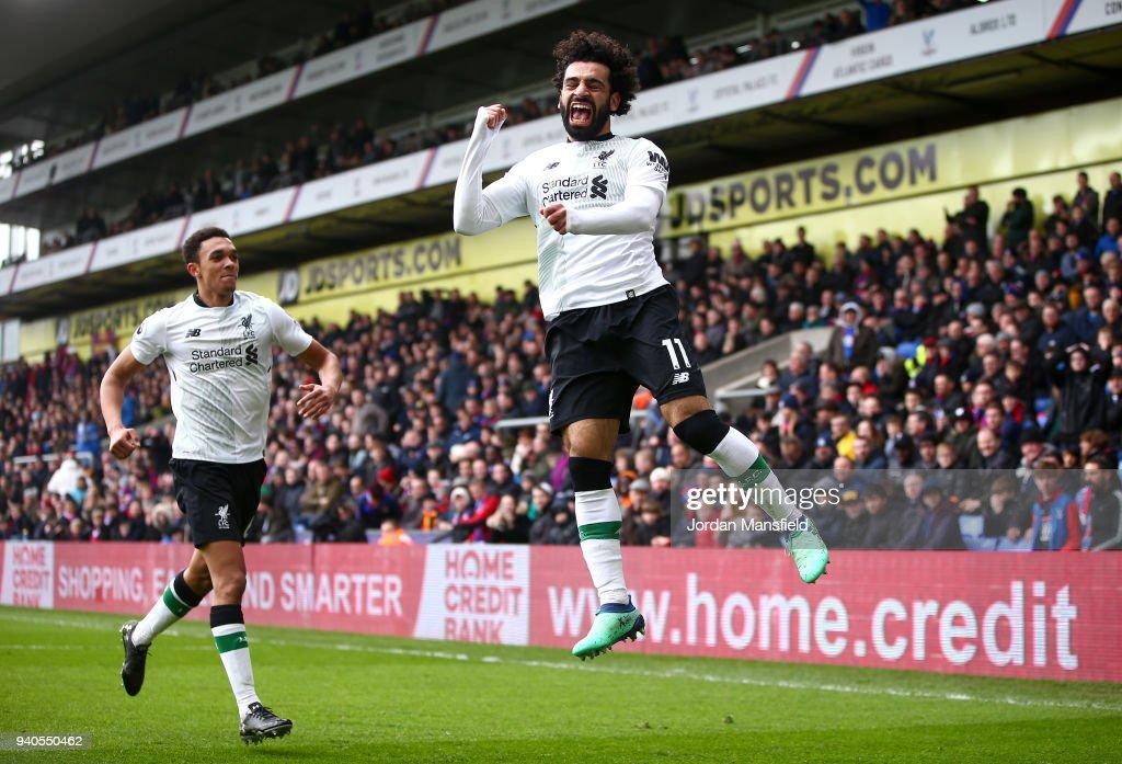 Crystal Palace v Liverpool - Premier League : News Photo