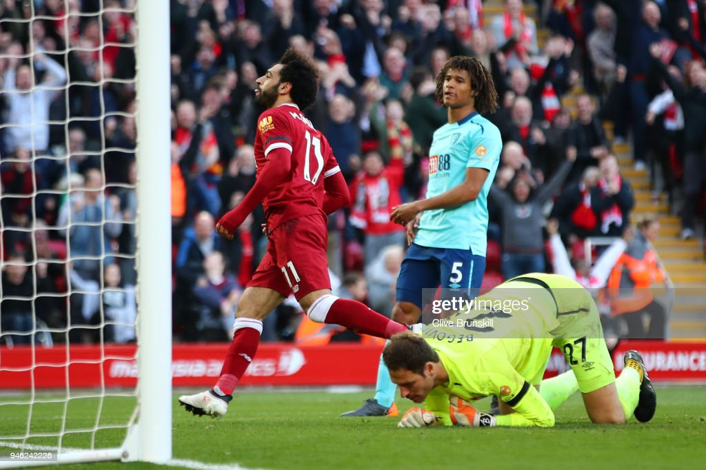 Liverpool v AFC Bournemouth - Premier League : News Photo