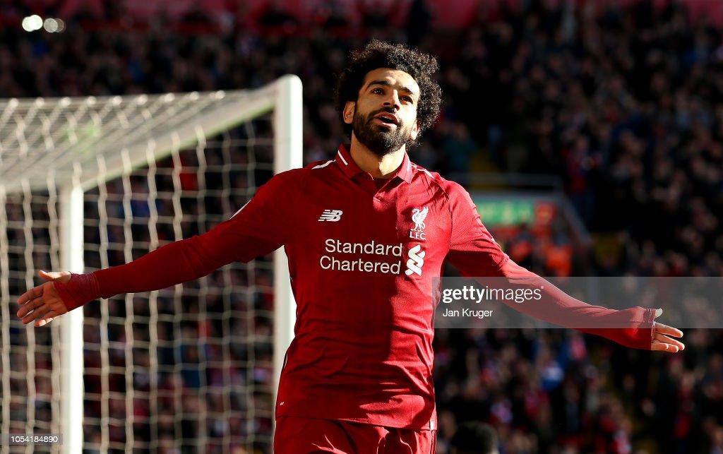 Liverpool FC v Cardiff City - Premier League : News Photo